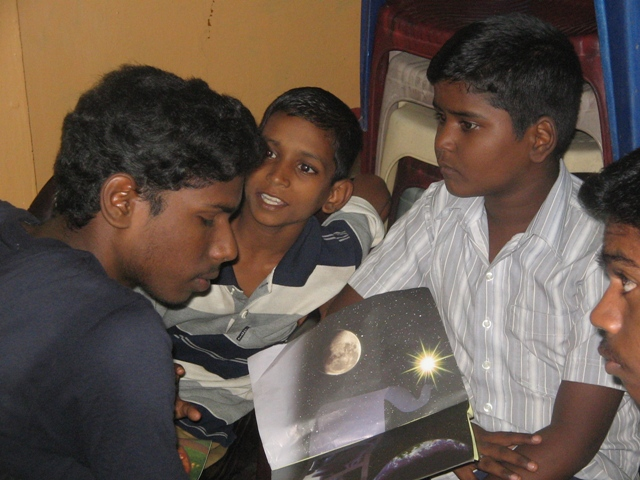Bro_ Vivek sharing the gospel also to the new young boys who came to that coffee club.JPG
